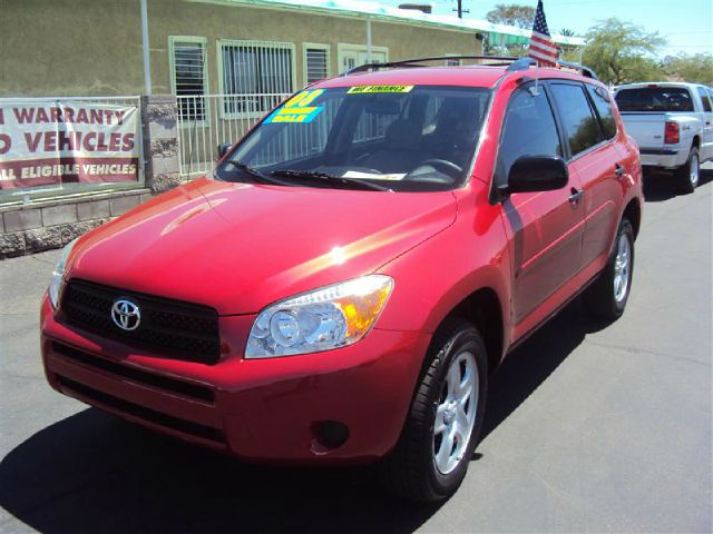 2008 TOYOTA RAV4 BASE I4 2WD WITH 3RD ROW red abs brakesair conditioningamfm radioanti-brake s