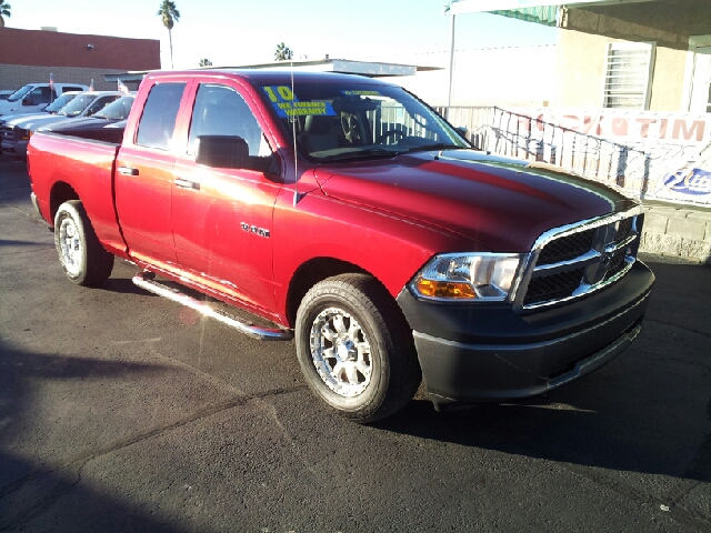 2010 DODGE RAM PICKUP 1500 ST inferno red clean 75367 miles VIN 1D7RB1GK8AS249219