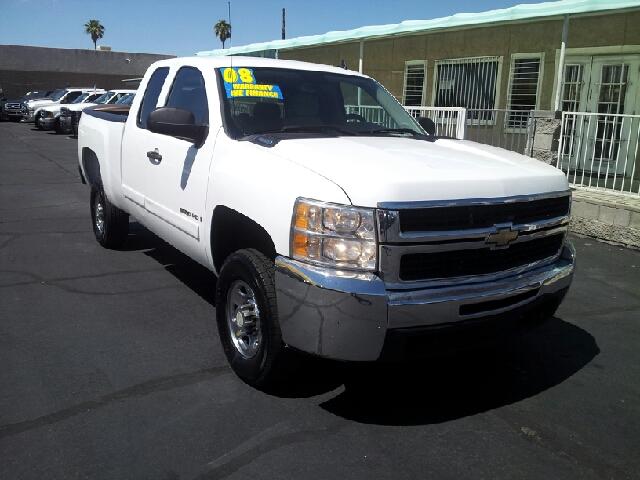 2008 CHEVROLET SILVERADO 2500 LT white clean 151972 miles VIN 1GCHC29K78E197788