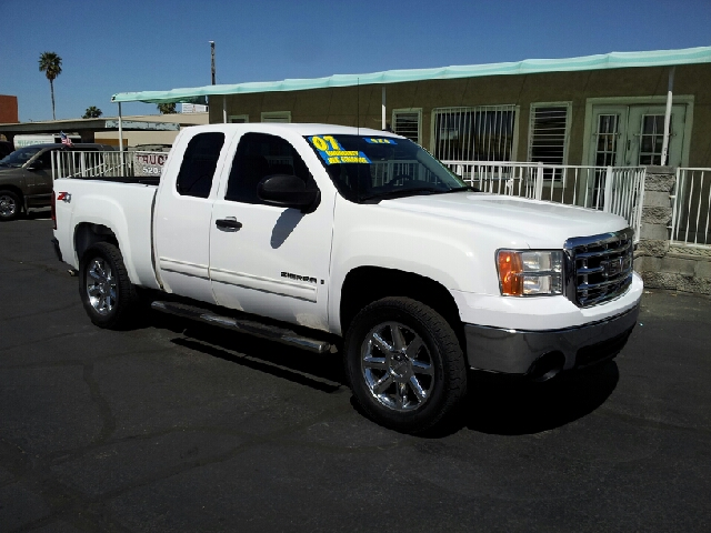 2007 GMC SIERRA 1500HD SLE white clean 4x4 off-road package air conditioning alloy wheels amf