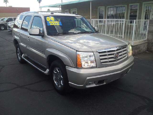2004 CADILLAC ESCALADE BASE AWD 4DR SUV silver clean abs - 4-wheel active suspension adjustable