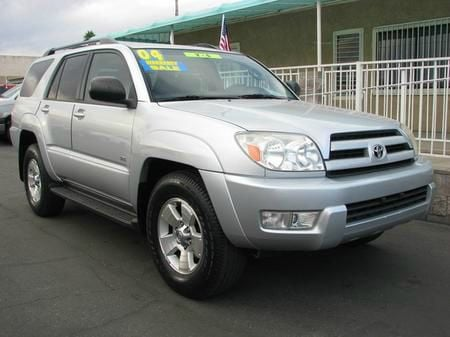 2004 TOYOTA HIGHLANDER V6 2WD WITH 3RD-ROW SEAT silver abs brakesair conditioningamfm radioant