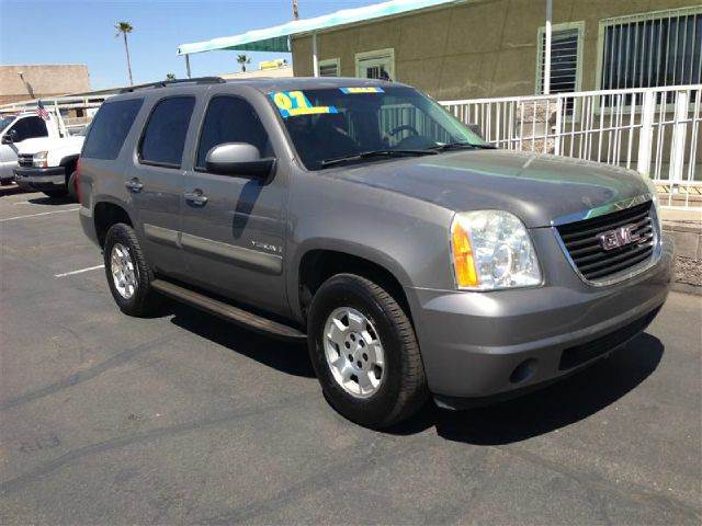 2007 GMC YUKON SLE-1 2WD gray abs brakesair conditioningalloy wheelsamfm radioanti-brake syst