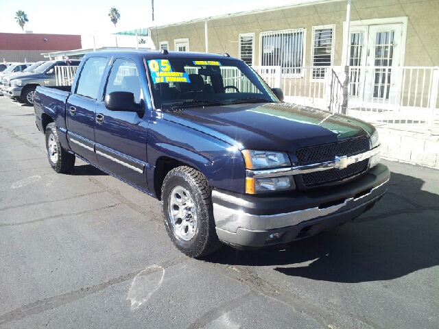 2005 CHEVROLET SILVERADO 1500 LS dark blue clean 118348 miles VIN 2GCEC13T351229891