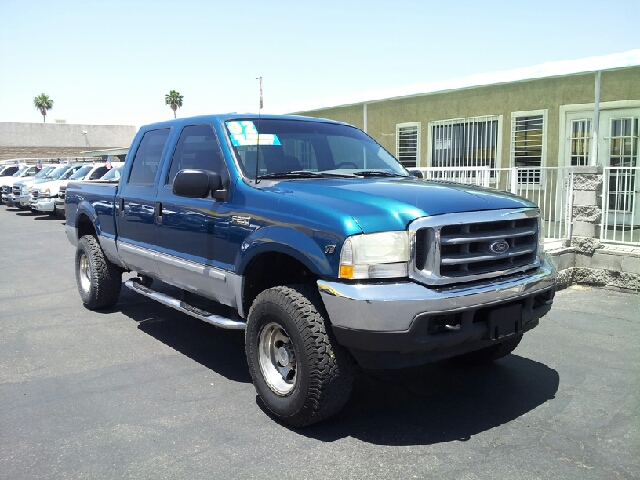 2002 FORD F-250 SUPERDUTY teal aquamarine clean options list4 door crew cab short box 2 wheel