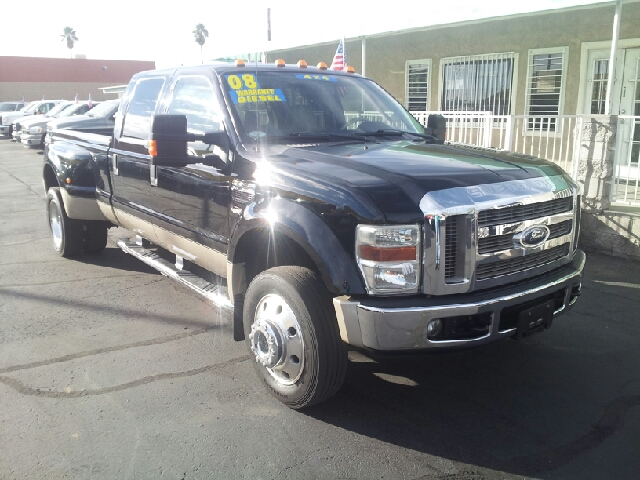 2008 FORD F-450 LARIAT black clean 5th wheel hitch kit air conditioning alarm alloy wheels am