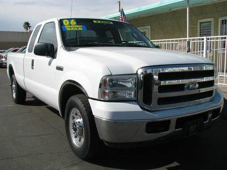 2006 FORD F-250 XL SUPERCAB 2WD white abs brakesamfm radioanti-brake system 4-wheel absbody s