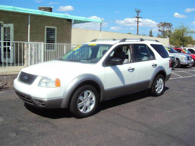 2006 FORD FREESTYLE SE white abs brakesair conditioningalloy wheelsamfm radioanti-brake syste