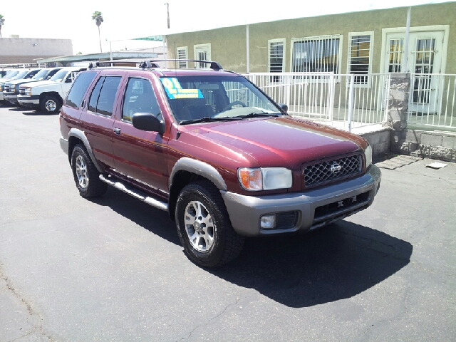 2001 NISSAN PATHFINDER SE burgundy red metallic cream puff 127700 miles VIN JN8DR09X51W579318