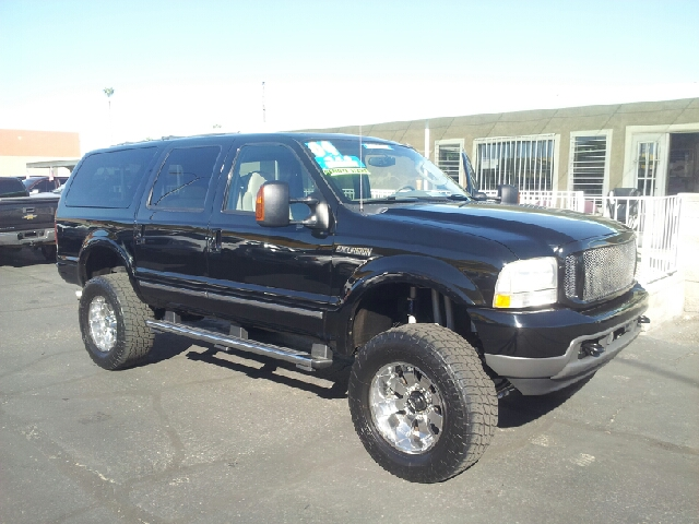 2004 FORD EXCURSION LIMITED 4WD 4DR SUV black clean abs - 4-wheel adjustable pedals - power ant