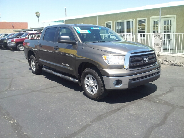2011 TOYOTA TUNDRA GRADE 4X4 4DR CREWMAX CAB PICKUP bronze clean 4wd type - part time abs - 4-wh