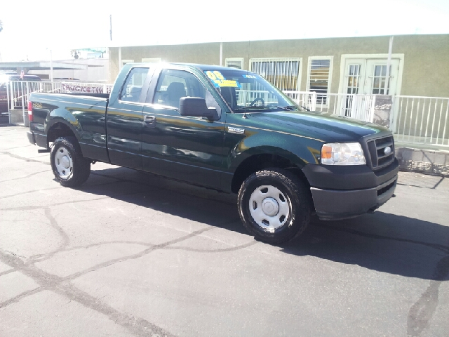 2008 FORD F-150 XL 4X4 4DR SUPERCAB STYLESIDE 6 forest green metallic clean 4wd type - part time