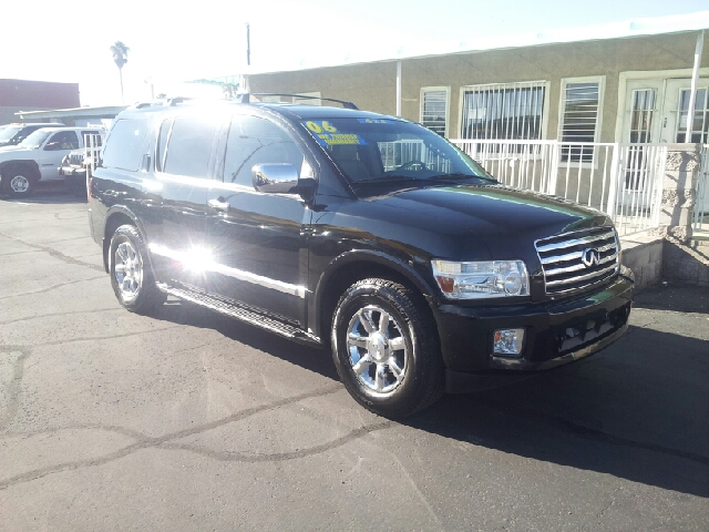 2006 INFINITI QX56 BASE 4DR SUV 4WD black clean 4wd type - on demand abs - 4-wheel adjustable p