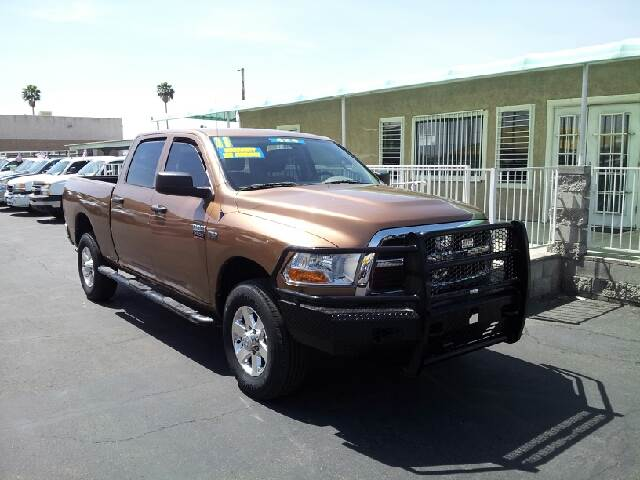 2011 DODGE RAM PICKUP 2500 SLT copper clean options list4 door short box quad cab 4 wheel dri