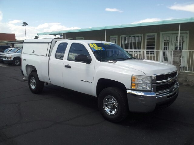 2008 CHEVROLET SILVERADO 2500HD LT2 4WD 4DR EXTENDED CAB SB white clean 4wd type - part time abs