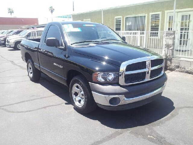 2002 DODGE RAM PICKUP 1500 ST 2DR REGULAR CAB 2WD SB black clean abs - rear axle ratio - 355 c