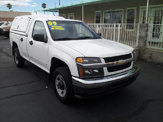 2009 CHEVROLET COLORADO BASE white clean air conditioning amfm radio amfm radio wcd player