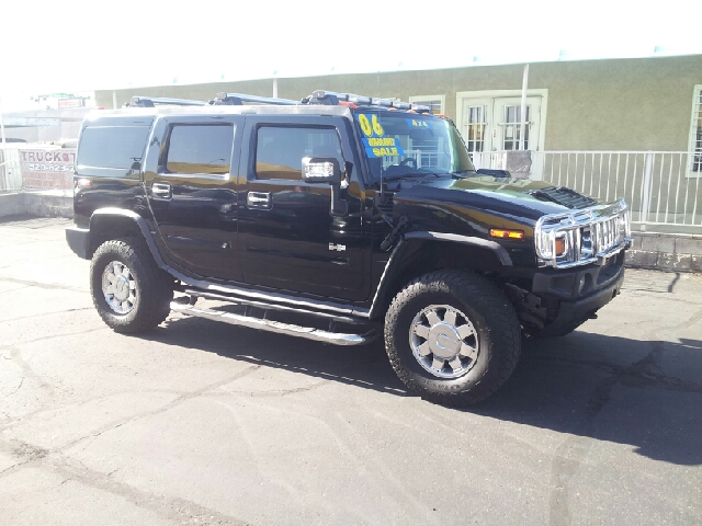2006 HUMMER H2 BASE 4DR SUV 4WD black clean 4wd selector - electronic hi-lo 4wd type - full time