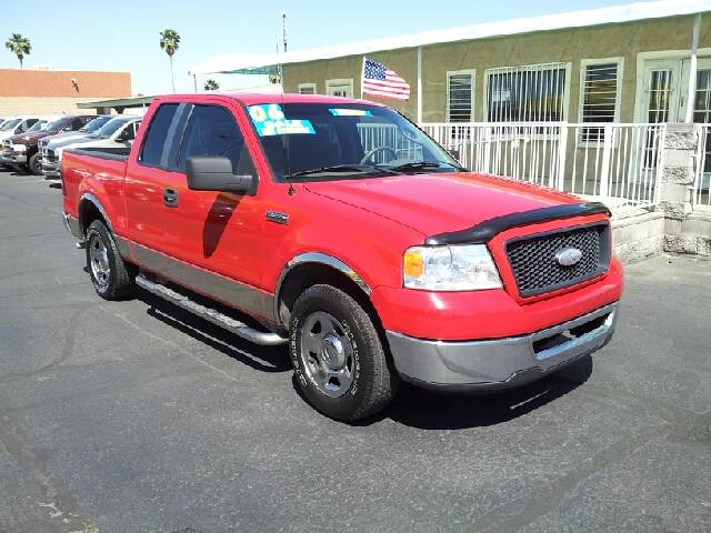 2006 FORD F-150 XLT 4DR SUPERCAB STYLESIDE 65 F red clean abs - 4-wheel airbag deactivation - o