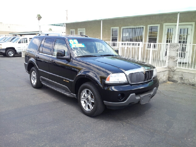 2004 LINCOLN AVIATOR LUXURY black clean options list4 door all wheel drive automatic transmissi