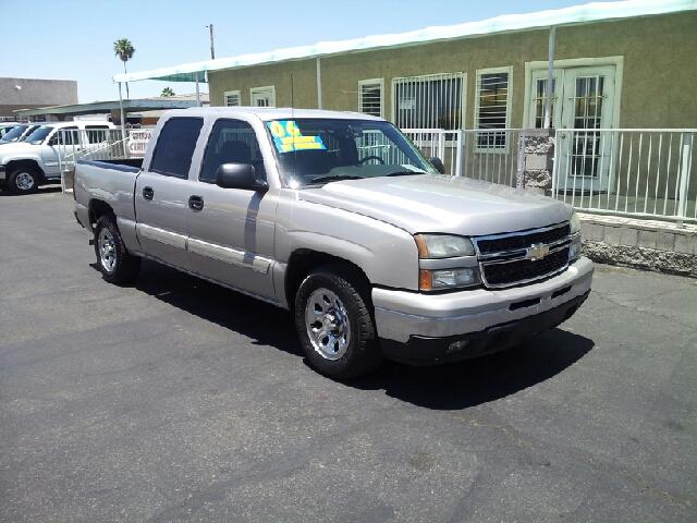 2006 CHEVROLET SILVERADO 1500 LS silver clean options list4 door crew cab short box 2 wheel dr