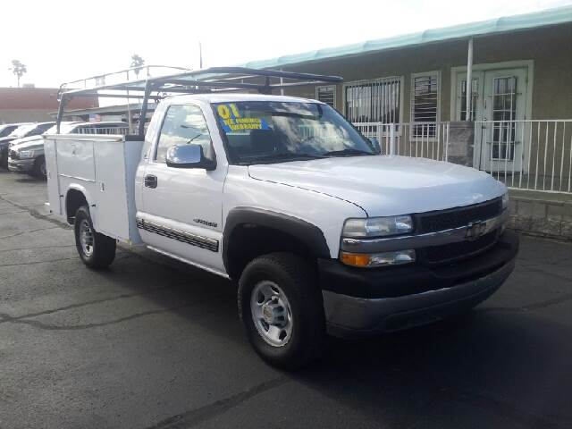 2001 CHEVROLET SILVERADO 2500HD BASE 2DR REGULAR CAB 2WD LB white clean abs - 4-wheel anti-theft