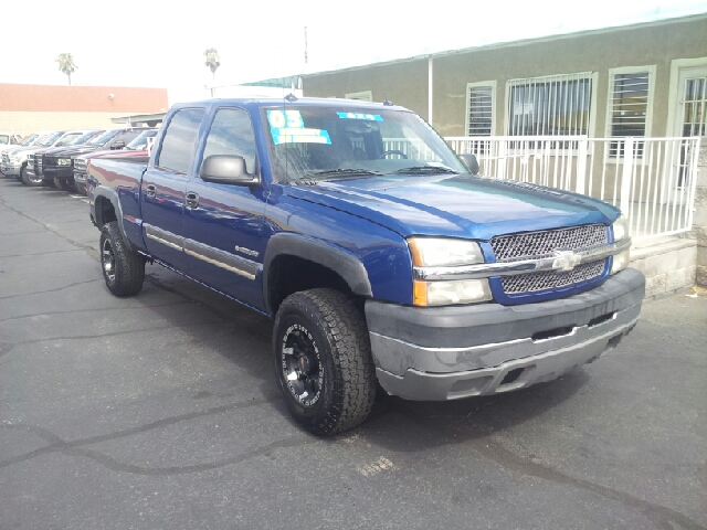 2003 CHEVROLET SILVERADO 2500HD LS 4DR CREW CAB 4WD SB electric blue clean abs - 4-wheel anti-th