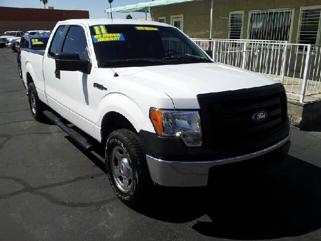 2010 FORD F-150 XL 4X2 4DR SUPERCAB STYLESIDE 6 white clean 50 state emissions system abs - 4-w