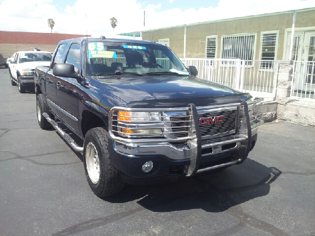 2005 GMC SIERRA 1500 SLE 4DR CREW CAB 4WD SB dark blue clean abs - 4-wheel anti-theft system - a