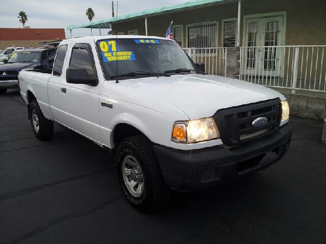 2007 FORD RANGER XLT white clean 128530 miles VIN 1FTYR15E77PA26146