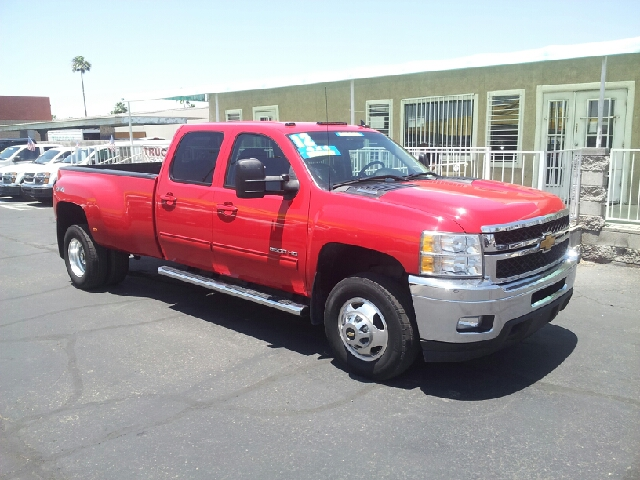 2012 CHEVROLET SILVERADO 3500HD LTZ 4X4 4DR CREW CAB LB DRW red clean 4wd selector - electronic h