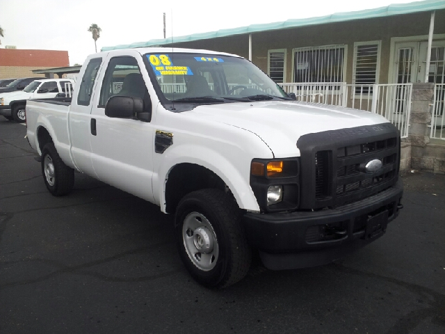2008 FORD F-250 SUPER DUTY XLT 4DR SUPERCAB 4WD SB white clean 4wd type - part time abs - 4-whee