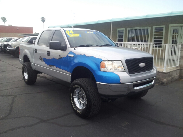 2006 FORD F-150 XLT 4DR SUPERCREW 4WD STYLESIDE silver clean 4wd type - part time abs - 4-wheel