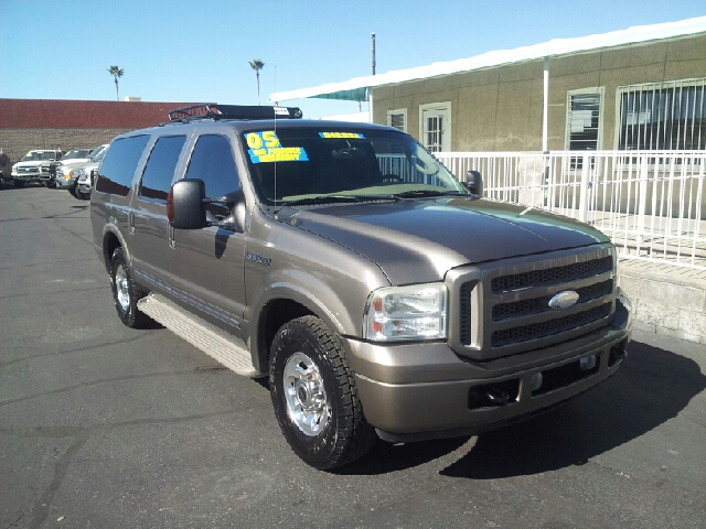 2005 FORD EXCURSION LIMITED 4DR SUV sandstone clean abs - 4-wheel adjustable pedals - power ant