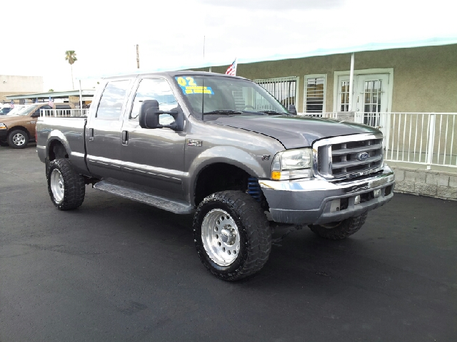 2002 FORD F-250 XLT gray metallic clean 145785 miles VIN 1FTNW20L72EC25886
