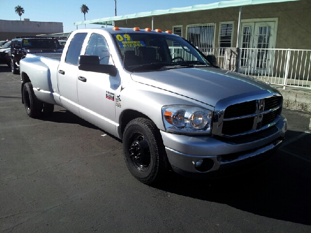 2009 DODGE D350 PICKUP LARAMIE gray clean 184000 miles VIN 3D7ML48L79G551501
