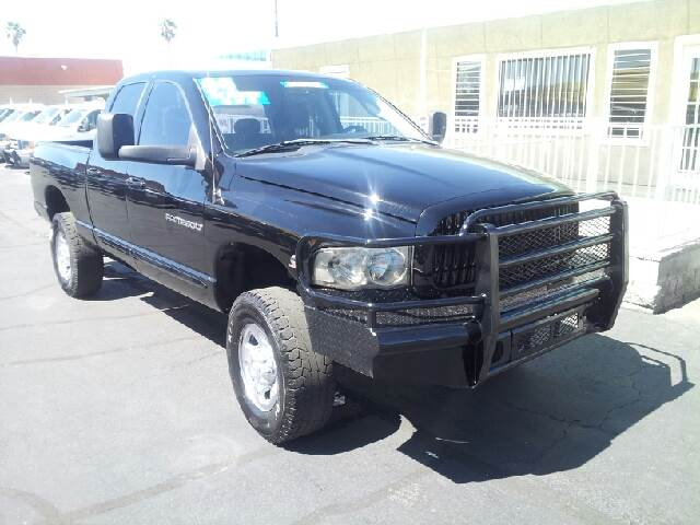 2004 DODGE RAM 2500 SLT black clean 206897 miles VIN 3D7KU28CX4G139549