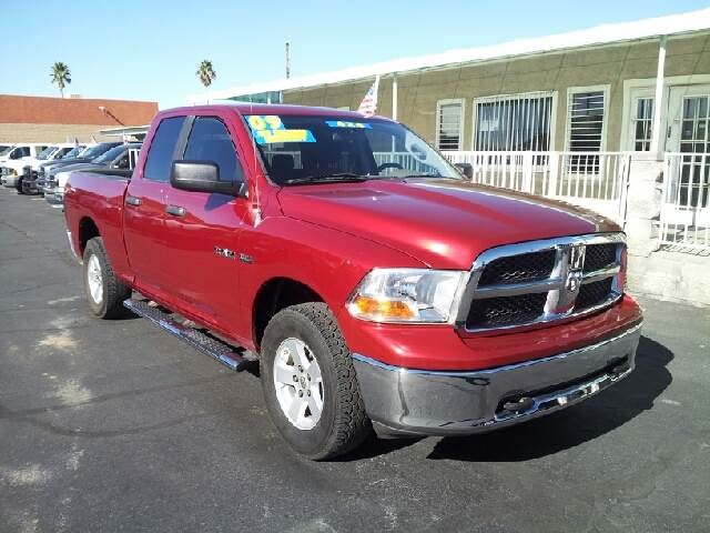 2009 DODGE RAM PICKUP 1500 SLT inferno red clean 93809 miles VIN 1D3HV18T49S737462
