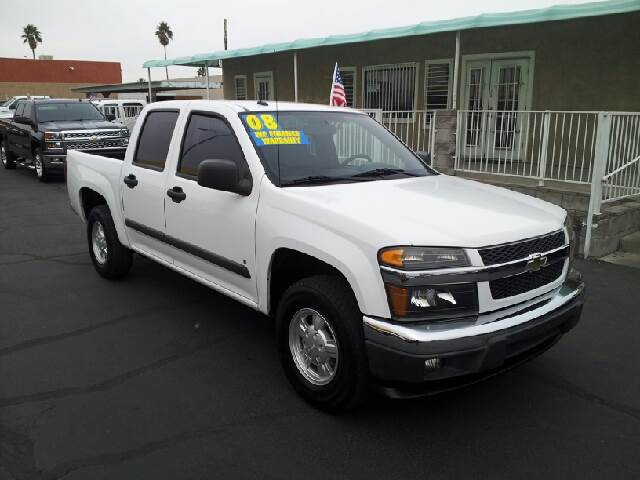 2008 CHEVROLET COLORADO LT white clean 98594 miles VIN 1GCCS339988228398