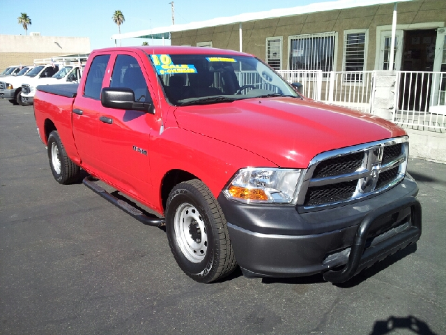 2010 DODGE RAM 1500 ST red clean 36305 miles VIN 1D7RB1GK3AS133412
