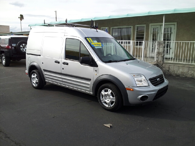 2011 FORD TRANSIT CONNECT XLT silver clean 98444 miles VIN NM0LS7BN5BT056538