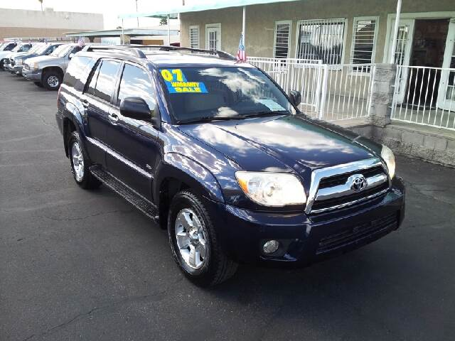 2007 TOYOTA 4RUNNER SR5 royal blue clean 126094 miles VIN JTEZU14R670085247