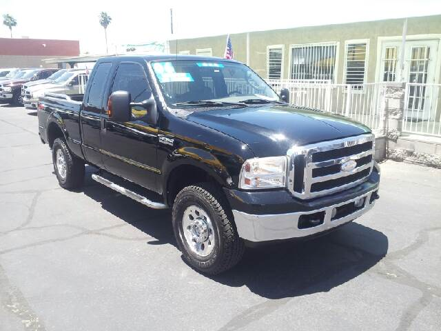 2006 FORD F-250 SUPER DUTY XLT 4DR SUPERCAB 4WD SB black clean 4wd type - part time abs - 4-whee