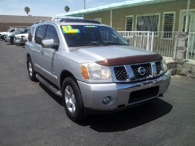 2007 NISSAN ARMADA LE silver clean options list4 door 2 wheel drive automatic transmission ala