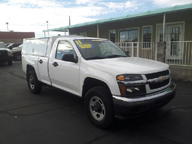 2011 CHEVROLET COLORADO WORK TRUCK 4X2 2DR REGULAR CAB C white clean abs - 4-wheel airbag deacti