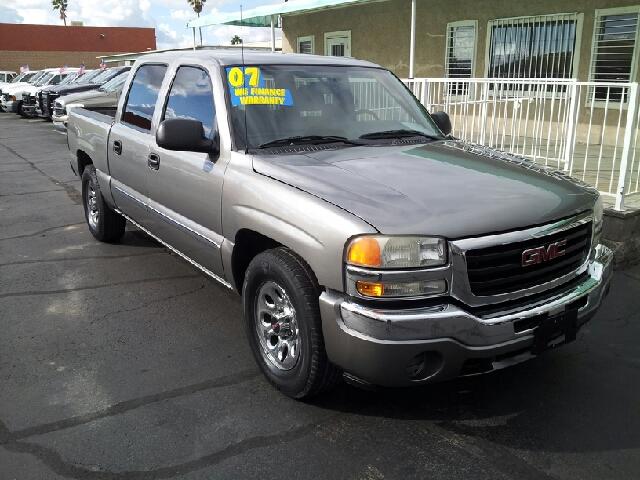 2007 GMC SIERRA 1500 SL pewter clean 87351 miles VIN 2GTEC13V071108000
