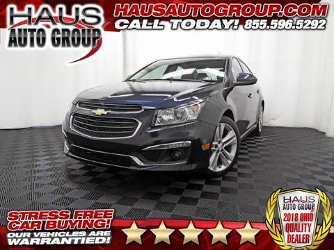 2015 Chevrolet Cruze for sale in Canfield, OH