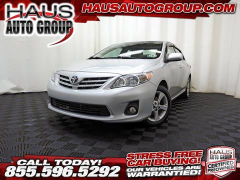 2013 Toyota Corolla for sale in Canfield, OH