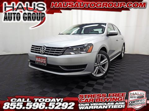 2015 Volkswagen Passat for sale in Canfield, OH