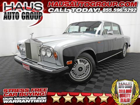 1980 Rolls-Royce Silver Shadow for sale in Canfield, OH